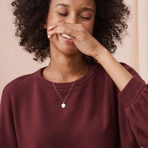 Lou & Grey Zen Bounce Blouson Sweatshirt